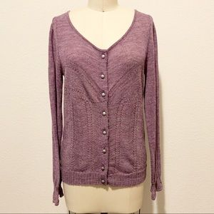 Knitted and Knotted Anthropologie Cardigan